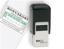 stempel-for-bonuskort/-colop-q12